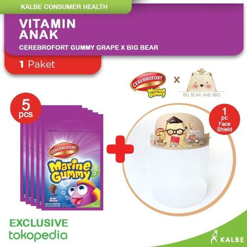 Foto Produk Paket Cerebrofort Gummy Grape X Big Bear dari Kalbe Consumer Health