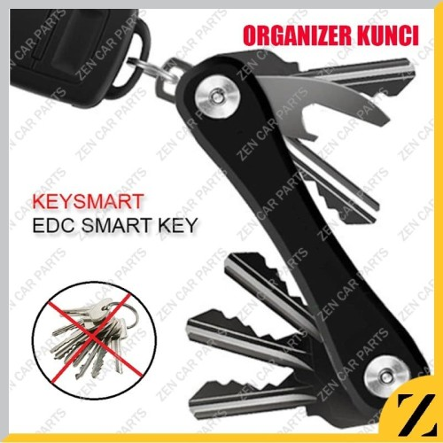 Foto Produk KeySmart Keychain Swiss army Key Holder Organizer EDC gantungan kunci dari Zen Car Parts