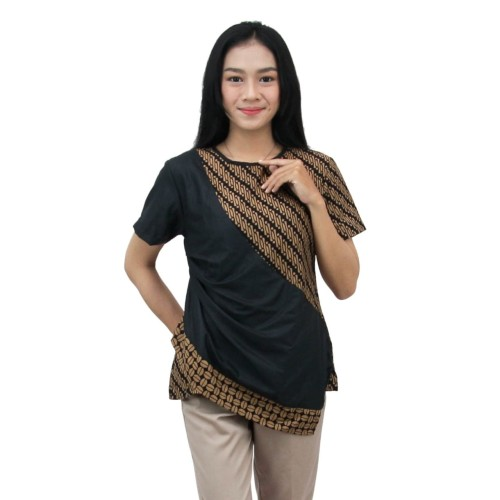 Foto Produk Blouse Batik Wanita Atasan Batik Modern SIZE S s/d 5L Terpopuler - S dari BATIK DUA PUTRI