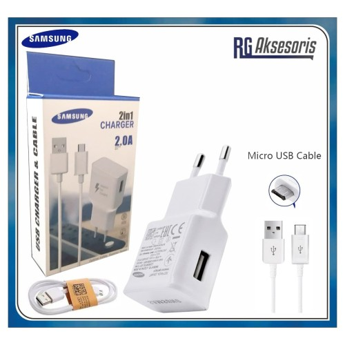 Foto Produk Charger SAMSUNG S6 2in1 Travel Charger 2.0A dari RG AKSESORIS HP