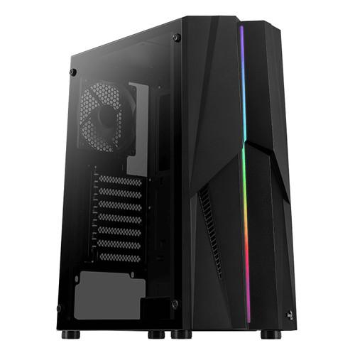 Foto Produk AEROCOOL Mecha [1FAN Black] STRIP RGB dari silicon ONE Computer