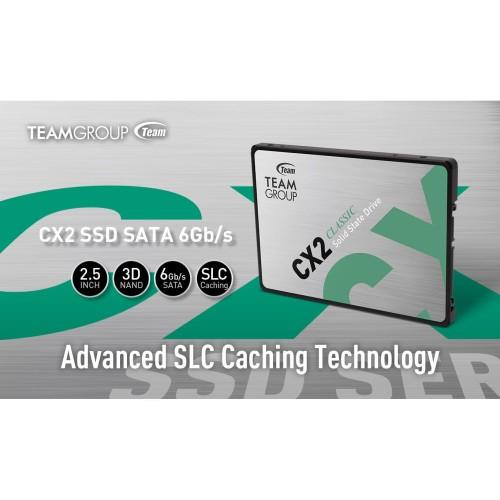 Foto Produk TEAM SSD CX2 256GB GARANSI RESMI 3 THN dari Yoestore