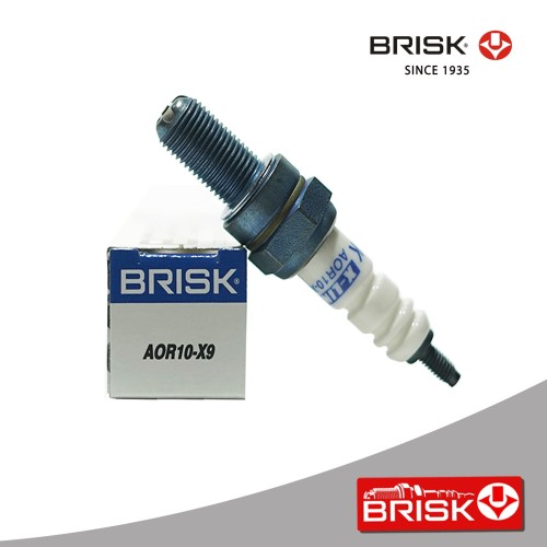 Foto Produk Busi Motor BRISK X-Line AOR10-X9 dari PT Brisk Busi Indonesia