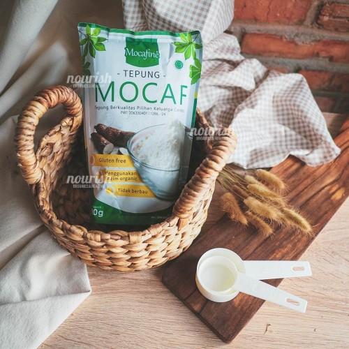Foto Produk Mocafine Tepung Mocaf Organik Gluten Free 500gr dari Nourish Indonesia