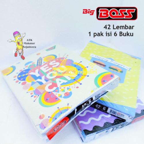 Foto Produk Buku Tulis Big Boss Campus 42 Lembar (6 buku) dari BajuKids&ATK