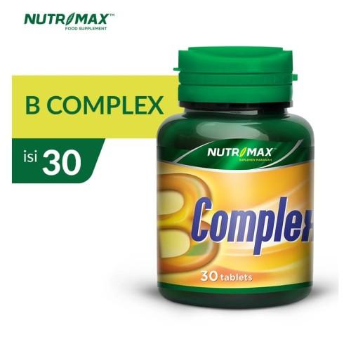 Foto Produk NUTRIMAX B COMPLEX 30 TABLET dari Nutrimax Official Store