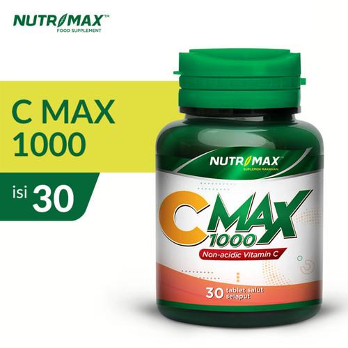 Foto Produk NUTRIMAX C MAX 1000 IMUNITAS DAYA TAHAN TUBUH VITAMIN C dari Nutrimax Official Store