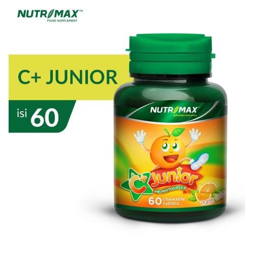Foto Produk NUTRIMAX C+ PLUS JUNIOR ISI 60 TABLET KUNYAH dari Nutrimax Official Store