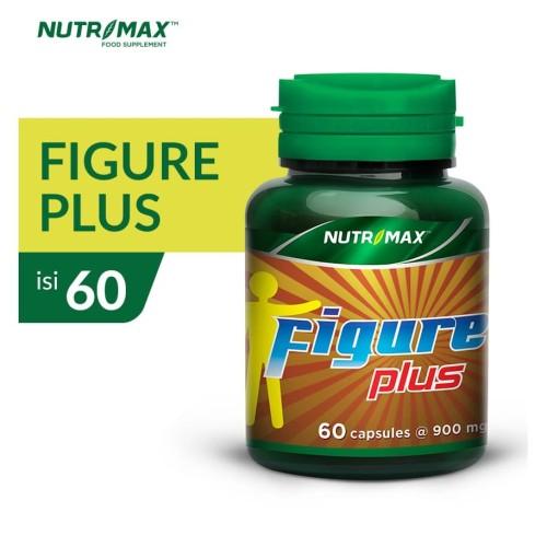 Foto Produk NUTRIMAX FIGURE PLUS ISI 60 NATURECAPS dari Nutrimax Official Store