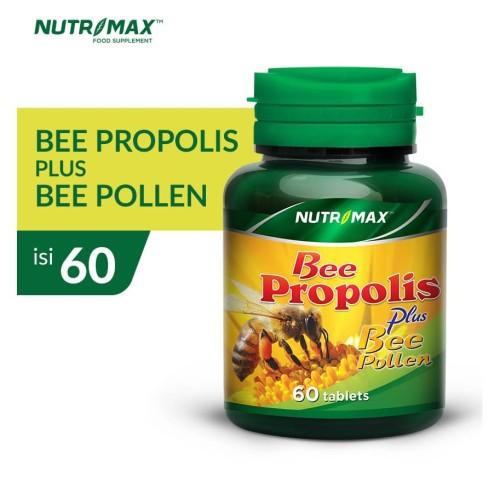 Foto Produk NUTRIMAX BEE PROPOLIS PLUS BEE POLLEN 60 TABLET dari Nutrimax Official Store