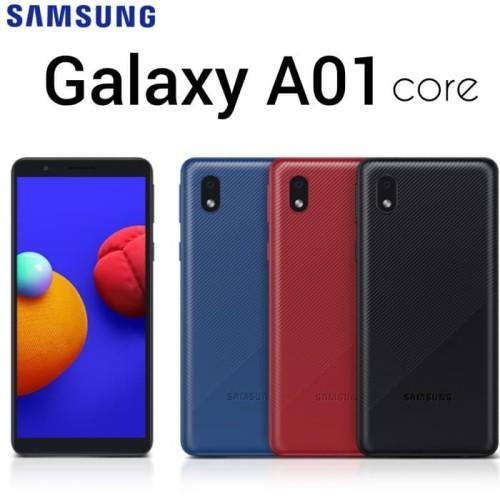 Foto Produk Samsung Galaxy A01 Core Ram 2/32 GB - Garansi Resmi SEIN - Hitam dari Super Store