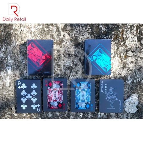 Foto Produk Kartu Remi Poker Capsah Plastik Pvc Anti Air - Biru dari dailyretail