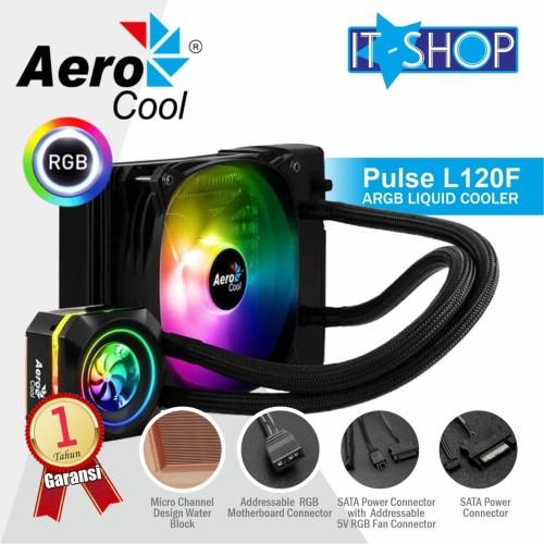Foto Produk Aerocool PULSE L120F ARGB Liquid CPU Cooler dari IT-SHOP-ONLINE