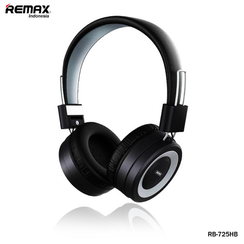 Foto Produk Remax RB-725HB Wireless Headphone Support TF Card - Abu-abu dari Remax Indonesia Official