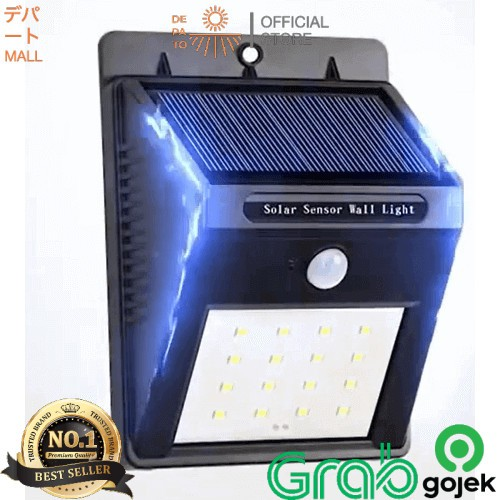 Jual Lampu Led Sensor Gerak Panel Surya Lampu Taman Otomatis Jakarta Barat Depatomall Official Tokopedia