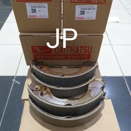 Foto Produk kampas rem belakang/ brake shoe daihatsu grand max/luxio dari jason part