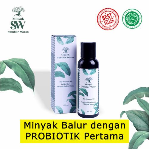 Foto Produk Minyak Sumber Waras 100ml - Minyak Balur Healing Oil Probiotik Herbal dari manuraya