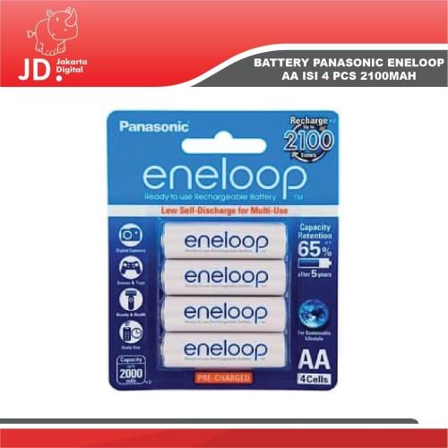 Foto Produk Baterai Eneloop AA 4 Pcs 2100Mah dari Jakarta Digital