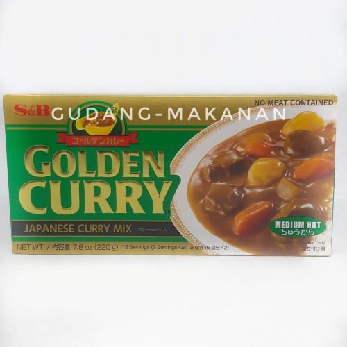 Foto Produk S&B Golden Curry 220 gr - Medium Hot dari GUDANG-MAKANAN