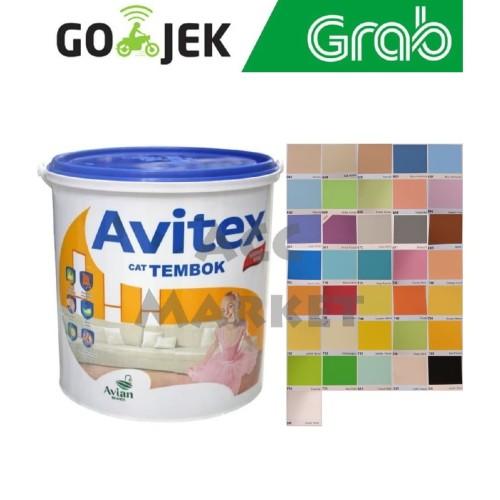 Foto Produk Cat Avitex Avian 5 kg Tembok Interior Plafon Beton Acrylic Emulsion dari ACC Market