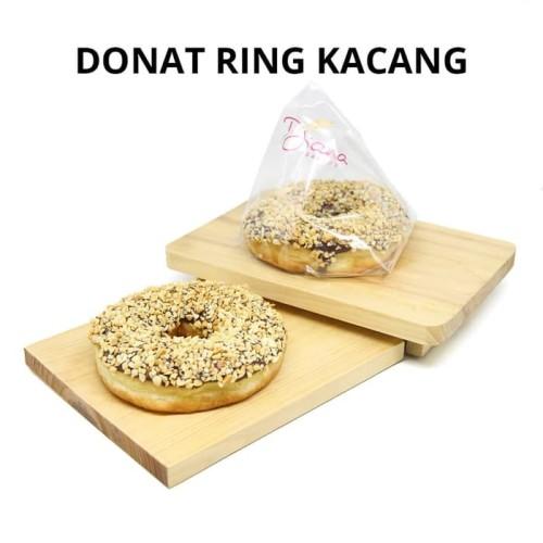 Foto Produk Donat Ring Kacang | Taburan Kacang Coklat | Roti Kue Donat dari Diana Bakery