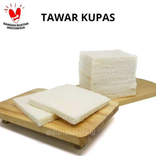 Foto Produk Roti Tawar Kupas | Roti Tawar | Roti Gandum | Roti Bakar | Roti Goreng dari Diana Bakery