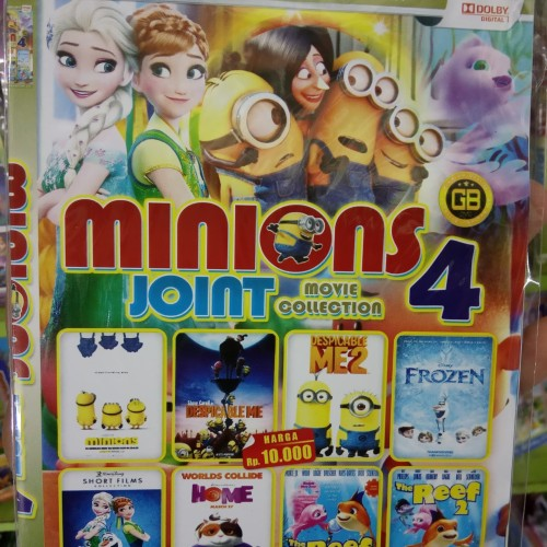 Foto Produk dvd minions joint 4 collection dari Gideon sukses sejahtera