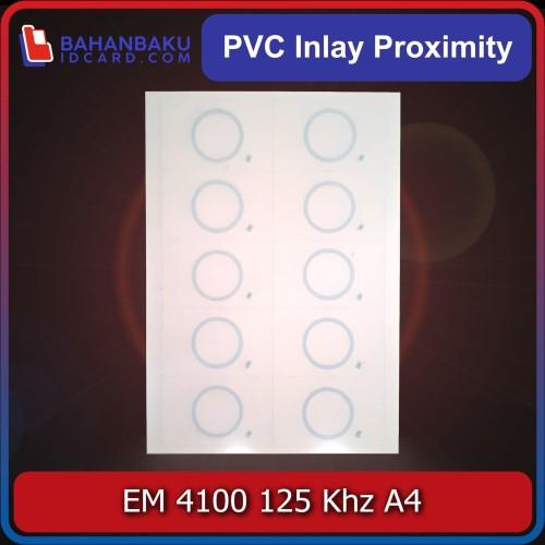 Foto Produk bahan pvc inlay em4100 em 4100 proximity 125 khz A4 dari Bahan Baku Idcard