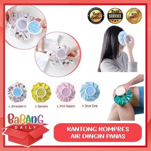 Foto Produk KANTONG KOMPRES ES DINGIN PANAS HOT COLD COMPRESS ICE PACK - Strawberry dari Barang Daily