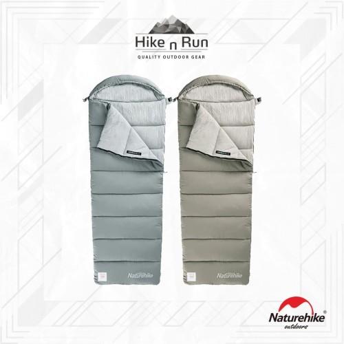 Foto Produk Sleeping Bag SB Naturehike M180 M300 M400 NH20MSD02 Hoodie - Hijau, S dari Hike n Run