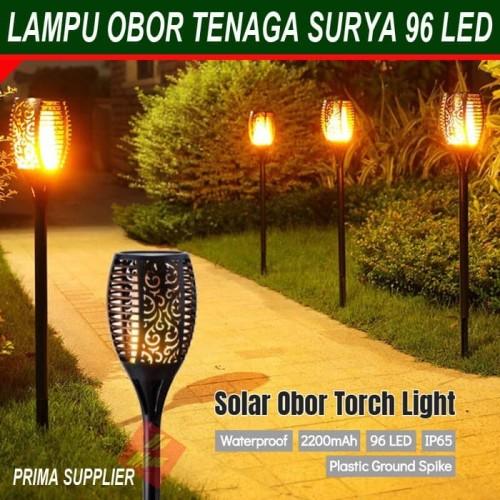 Jual Lampu Obor Tenaga Surya Lampu Hias Taman Model Obor Lampu Taman Obor Jakarta Timur Prima Supplier Tokopedia