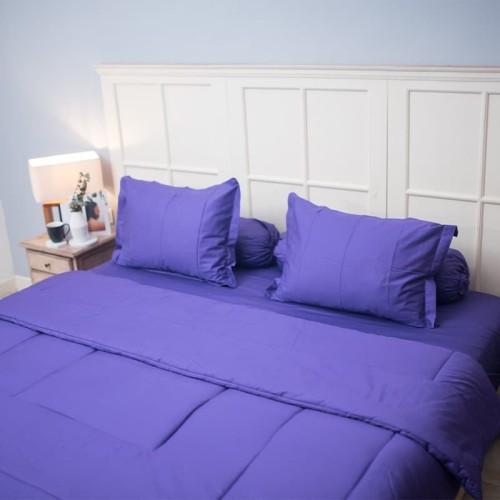 Foto Produk Sleep Buddy Sprei & Bed Cover Plain Amenthys Katun Jepang Extra King dari Sleep Buddy Bedding