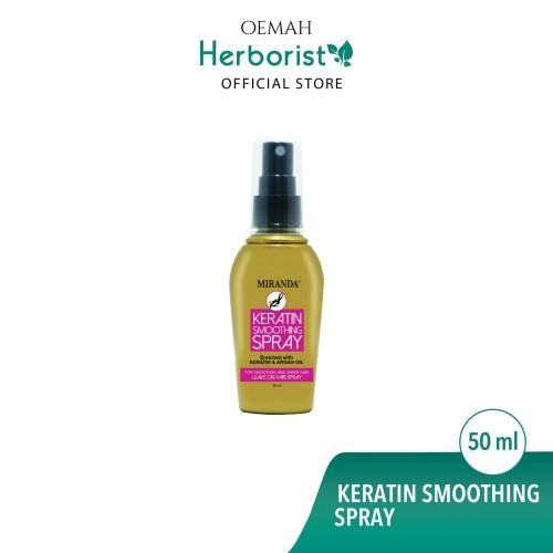 Foto Produk Miranda Keratin Smoothing Spray (Perawatan Rambut) 50ml dari Oemah Herborist