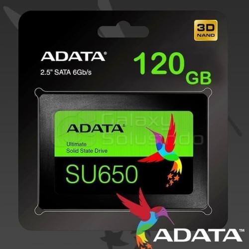 Foto Produk SSD Adata SU650 120gb 3D-NAND R=540 MB/s W=450MB/S +++ SSD Adata 120gb dari PojokITcom Pusat IT Comp