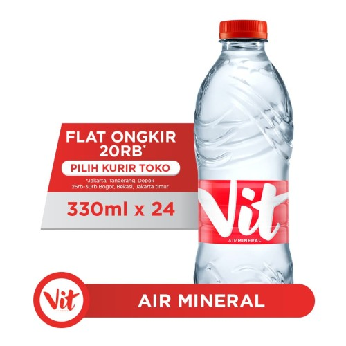 Foto Produk VIT Air Mineral 330ml x 24 botol (1 box) dari AQUA Official Store