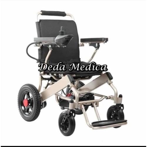 Foto Produk Kursi Roda Listrik Type Topaz Wheelchair Elektrik Electric Avico dari Deda Medica