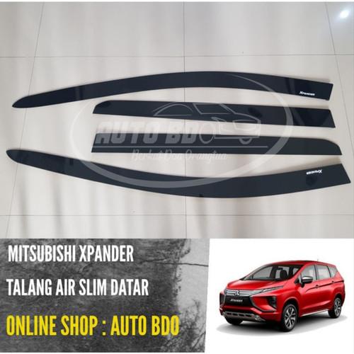 Foto Produk Talang Air Xpander Slim Datar Flat Like Ori dari Auto BDO Berkat Doa Ortu