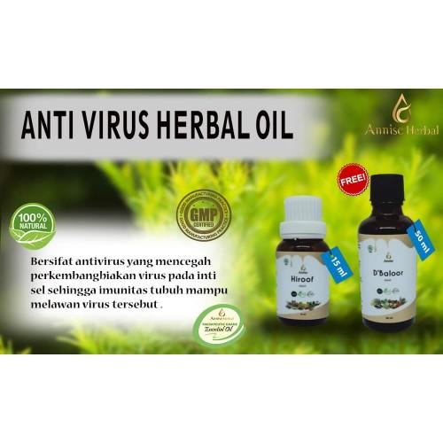 Foto Produk Obat Herbal Alami Mencegah Virus, HiRoof dan d'BaLooR dari anniseherbal
