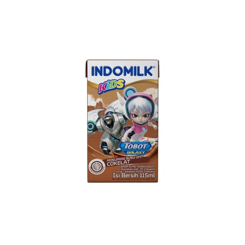 Foto Produk SUSU UHT INDOMILK KIDS CHOCO 115 ML X Pcs dari Indomilk Official Store