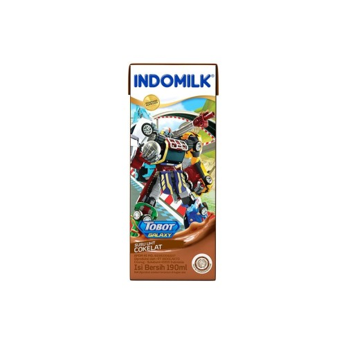 Foto Produk SUSU UHT INDOMILK KIDS CHOCO 190 ML X Pcs dari Indomilk Official Store