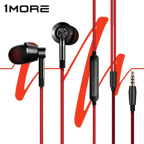 Foto Produk Xiaomi 1MORE Voice of China Edition Piston In-Ear Earphones - 1M301 - hitam merah dari 1MORE Official Store