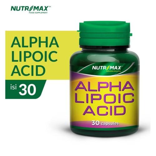 Foto Produk NUTRIMAX ALPHA LIPOIC ACID 30 NATURECAPS dari Nutrimax Official Store