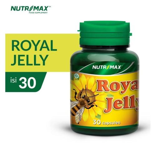 Foto Produk NUTRIMAX ROYAL JELLY ISI 30 NATURECAPS dari Nutrimax Official Store