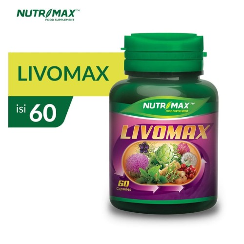 Foto Produk NUTRIMAX LIVOMAX isi 60 NATURECAPS dari Nutrimax Official Store