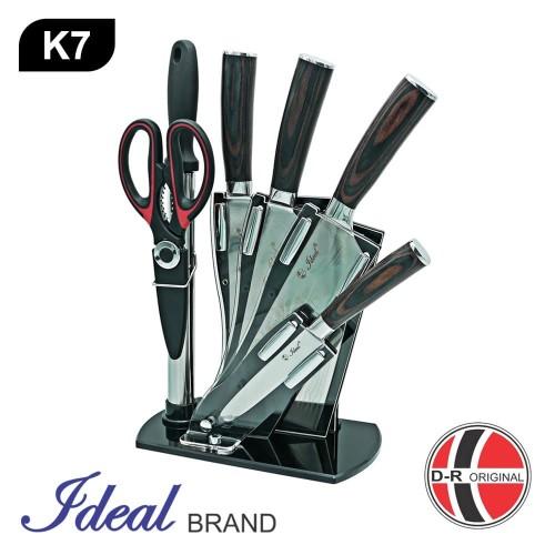 Foto Produk IDEAL K7 Pisau Set Stainless Premium 7 Pcs dari IDEAL Official