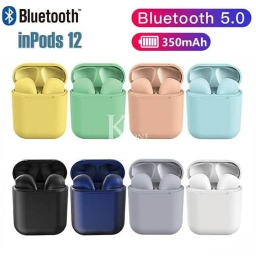 Foto Produk Inpods 12 TWS Macaron Bluetooth V5.0 Headset i12 TWS Macaron. dari Perfect_Cell