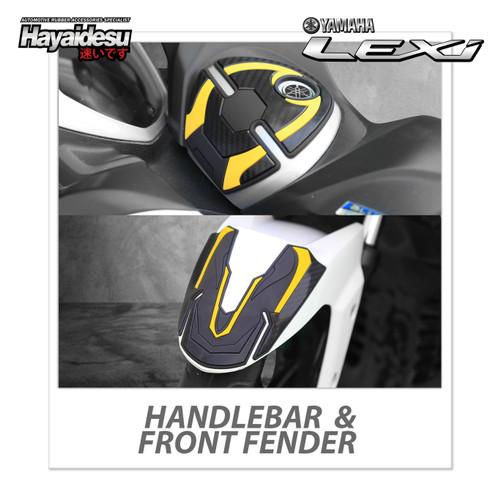 Foto Produk Hayaidesu LEXI Body Protector Front Fender & Handle Bar Cover - Kuning dari Hayaidesu Indonesia