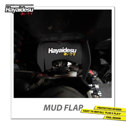 Foto Produk Hayaidesu Mud Flap Penahan Lumpur Motor Honda Vario FI - Japan Quality - Hitam dari Hayaidesu Indonesia