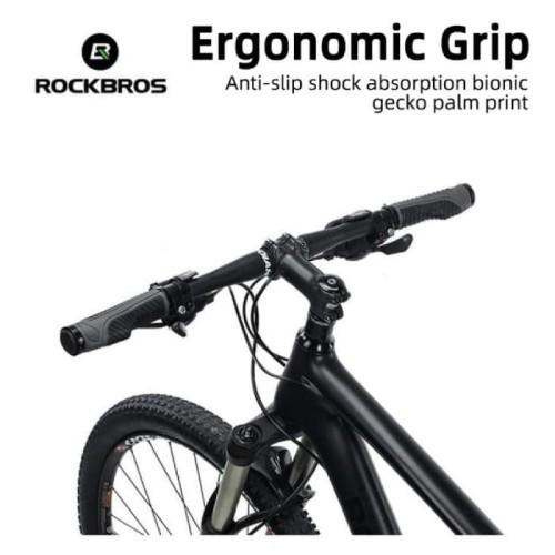 Foto Produk Rockbros Pegangan Sepeda Hand Grip Sepeda Mtb Sepeda Lipat Original dari Rockbros Bike