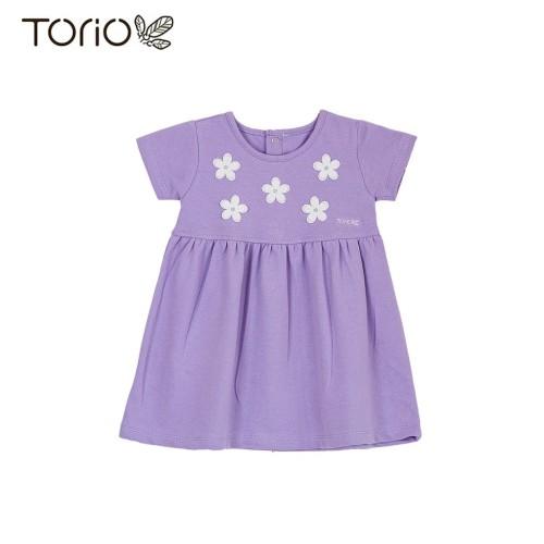 Foto Produk Torio Flower Dress In Jasmine - Baju Dress Bayi Perempeuan - 3-6 bulan dari Torio